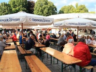 Marktplatz bei der Bad Zwischenahner Woche