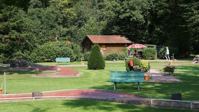Minigolfbahn in Bad Zwischenahn